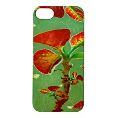 Tropical Floral Print Apple Iphone 5s Hardshell Case by dflcprints