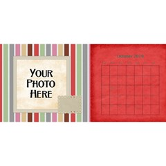 2016 Sml 11x5 Calendar By Lisa Minor   Desktop Calendar 11  X 5    Wxl8gbwgse75   Www Artscow Com Oct 2016