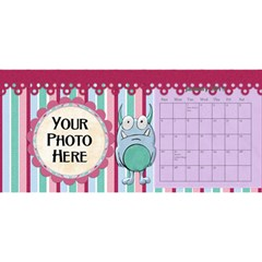 2016 Monster Party 11x5 Calendar By Lisa Minor   Desktop Calendar 11  X 5    7e7tskhrxypu   Www Artscow Com Jan 2016