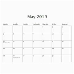 2016 Primary Cardboard Calendar 1 By Lisa Minor   Wall Calendar 11  X 8 5  (12 Months)   Bvsvpkup7cpb   Www Artscow Com May 2016