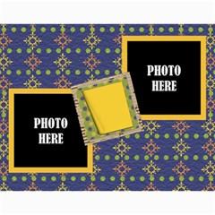 2016 Primary Cardboard Calendar 1 By Lisa Minor   Wall Calendar 11  X 8 5  (12 Months)   Bvsvpkup7cpb   Www Artscow Com Month