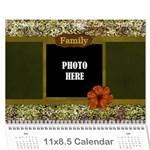 2016 Arabian Spice Calendar 1 - Wall Calendar 11  x 8.5  (12-Months)