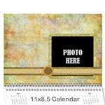 2016 Primavera Calendar 1 - Wall Calendar 11  x 8.5  (12-Months)