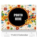 2016 Celebrate Calendar - Wall Calendar 11  x 8.5  (12-Months)