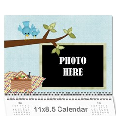 2016 At The Park Calendar By Lisa Minor   Wall Calendar 11  X 8 5  (12 Months)   M8p836nxprd7   Www Artscow Com Cover