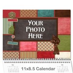 2016 Calender Mix By Lisa Minor   Wall Calendar 11  X 8 5  (12 Months)   Vwel2ol19fe3   Www Artscow Com Cover