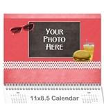 2016 JUMP STARTS OBYP Calendar - Wall Calendar 11  x 8.5  (12-Months)