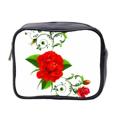 Rose Garden Mini Toiletries Bag 2 Side by AlteredStates
