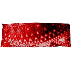 Red Fractal Lace Body Pillow Cases Dakimakura (two Sides)  by KirstenStar