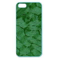 Woven Skin Green Apple Seamless Iphone 5 Case (color) by InsanityExpressed