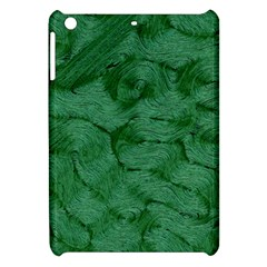 Woven Skin Green Apple iPad Mini Hardshell Case by InsanityExpressed
