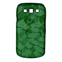 Woven Skin Green Samsung Galaxy S Iii Classic Hardshell Case (pc+silicone) by InsanityExpressed