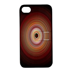 Colour Twirl Apple Iphone 4/4s Hardshell Case With Stand by InsanityExpressed