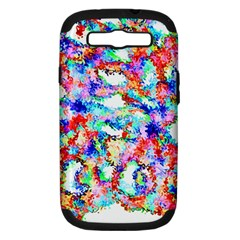 Soul Colour Light Samsung Galaxy S III Hardshell Case (PC+Silicone) by InsanityExpressed