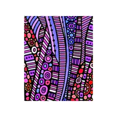Stained Glass Tribal Pattern Shower Curtain 48  X 72  (small)  by KirstenStar