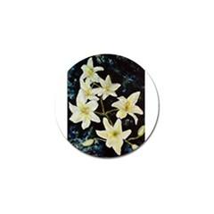 Bright Lilies Golf Ball Marker (10 Pack) by timelessartoncanvas