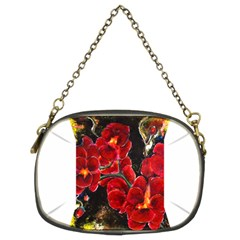 Red Orchids Chain Purses (two Sides)  by timelessartoncanvas