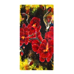 Red Orchids Memory Card Reader by timelessartoncanvas