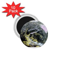 Black Ice 1 75  Magnets (10 Pack)  by timelessartoncanvas