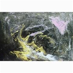 Black Ice Collage 12  x 18