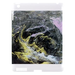 Black Ice Apple iPad 3/4 Hardshell Case (Compatible with Smart Cover) by timelessartoncanvas
