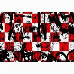 Emo Checker Graffiti Collage 12  x 18