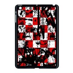Emo Checker Graffiti Apple Ipad Mini Case (black) by ArtistRoseanneJones