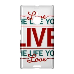 Love The Life You Live Nokia Lumia 1520 by theimagezone