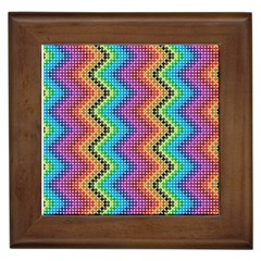 Aztec 3 Framed Tiles by theimagezone