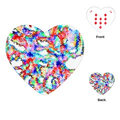 Soul Colour Light Playing Cards (Heart)  by InsanityExpressed