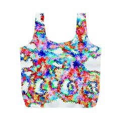 Soul Colour Light Full Print Recycle Bags (m)  by InsanityExpressed