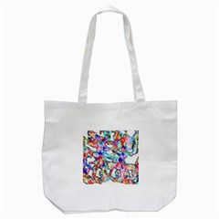 Soul Colour Light Tote Bag (white)  by InsanityExpressed