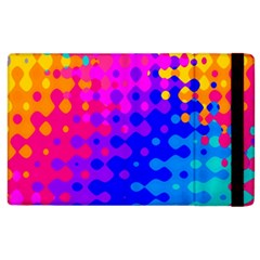 Totally Trippy Hippy Rainbow Apple Ipad 2 Flip Case by KirstenStar