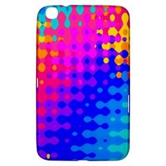 Totally Trippy Hippy Rainbow Samsung Galaxy Tab 3 (8 ) T3100 Hardshell Case  by KirstenStar