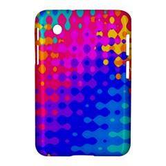 Totally Trippy Hippy Rainbow Samsung Galaxy Tab 2 (7 ) P3100 Hardshell Case  by KirstenStar