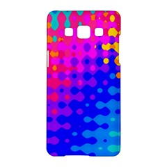 Totally Trippy Hippy Rainbow Samsung Galaxy A5 Hardshell Case  by KirstenStar