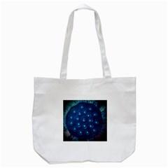 Blue Plant Tote Bag (white)