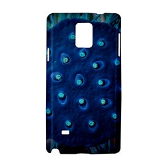 Blue Plant Samsung Galaxy Note 4 Hardshell Case by InsanityExpressed