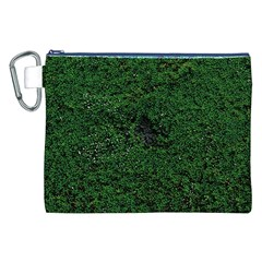 Green Moss Canvas Cosmetic Bag (xxl)  by InsanityExpressed
