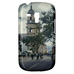 Cathedral At Historic Center Of Bogota Colombia Edited Samsung Galaxy S3 Mini I8190 Hardshell Case by dflcprints