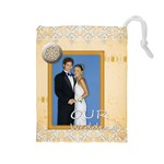 wedding - Drawstring Pouch (Large)
