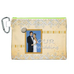 Wedding By Joely   Canvas Cosmetic Bag (xl)   Re1yhwrvrxsi   Www Artscow Com Front