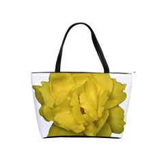Isolated Yellow Rose Photo Shoulder Handbags by dflcprints