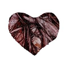 The Bleeding Tree Standard 16  Premium Heart Shape Cushions by InsanityExpressed