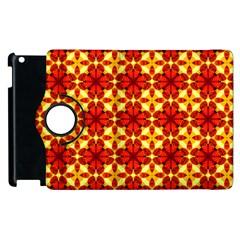 Cute Pretty Elegant Pattern Apple Ipad 2 Flip 360 Case by creativemom