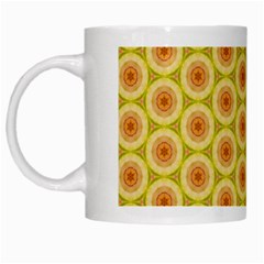 Cute Pretty Elegant Pattern White Mugs by creativemom