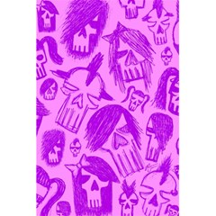 Purple Skull Sketches 5 5  X 8 5  Notebooks by ArtistRoseanneJones