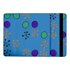 Circles And Snowflakessamsung Galaxy Tab Pro 10 1  Flip Case by LalyLauraFLM