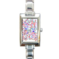 Soul Colour Light Rectangle Italian Charm Watches by InsanityExpressedSuperStore