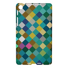 Rhombus pattern in retro colors Google Nexus 7 (2013) Hardshell Case by LalyLauraFLM